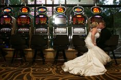 Wedding photography must have in a casino | Las Vegas Wedding Hair and Makeup | Wedding Hair and Makeup | @Liz Sieglaff Grant