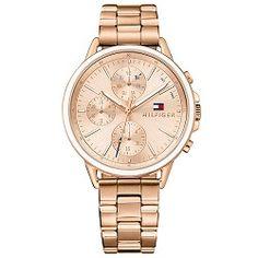 8718a0753f9 Relógio Tommy Hilfiger Feminino Aço Rosé - 1781788