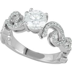 Nue Diamonds   Mila $1299    Inspired by European artistry, love the sophisticated look. #manmadediamonds #engagement #diamonds #wedding http://www.nuediamonds.com/diamond_engagement_rings_conflict_free_Mila_round.html