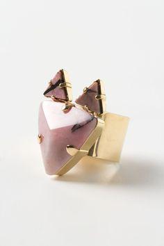 Stone fox ring // Sabrina Dehoff