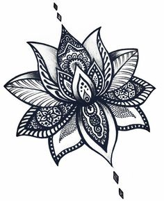 Easy to draw lotus flower cool flower drawing lotus flower tattoos tattoo designs lotus flower tattoo . Lotus Mandala Tattoo, Lotus Flower Tattoo Design, Lotus Flower Mandala, Mandala Tattoo Design, Tattoo Flowers, Drawing Flowers, Lotus Flowers, Lotus Design, Lotus Mandala Design