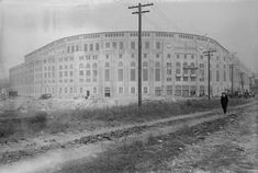 Vintage 1923, Yankee Stadium in the Bronx, NYC, www.REvWill.com