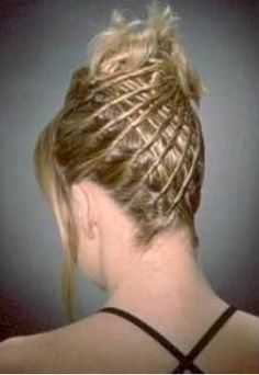 back of hair twists