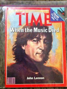 1980 John Lennon on cover of Times Mag.