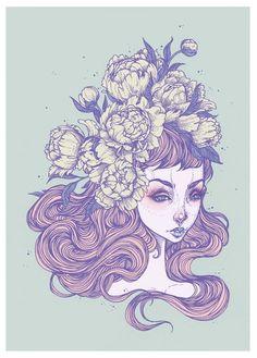 """Iris"" Print - S"