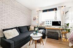 Si cet appartement fait moins de 20m², il est toutefois très accueillant. Comment est-ce possible? Il est bien plus facile d'y arriver qu'avec une surface plus grande. En effet, un tout…