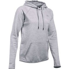Under Armour Women's Storm AF Icon Twist Hoodie ($60) ❤ liked on Polyvore featuring tops, hoodies, under armour hoodies, lightweight hoodies, fleece lined hoodies, lightweight hoodie and light weight hoodie