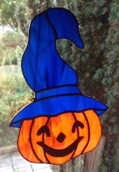 BV.Pompoen voor Halloween