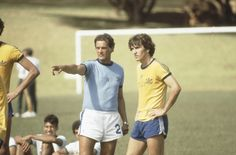 Telê Santana e Zico, a serviço da seleção brasileira, em 1981.