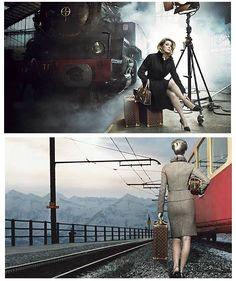 Catherine Deneuve , by Annie Leibovitz