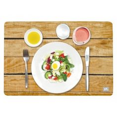 For when the weather's not good enough to eat outside - 3D placemats! | eBay UK