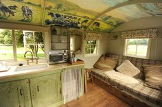 Decor To Adore: Gypsy Caravans, Shepherd Huts and Tin Tabernacles Oh My!