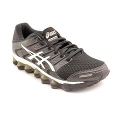 Dynamis, Chaussures de Running Femme, Multicolore (Carbon/Black/White), 38 EUAsics