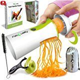 Acale Spiral Slicer Hand Held Vegetable Spiralizer, Vegetable Cutter Zucchini Courgette Spaghetti Maker with a Cleaning Brush for Gift Spiralizer Recipes, Vegetable Spiralizer, Mandoline, Zucchini Pasta, Cooking Appliances, Kitchen Appliances, Good Health Tips, Pasta Noodles, Lame