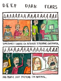 People's Deepest and Darkest Irrational Fears Are Turned into Humorously Relatable Comics - My Modern Met
