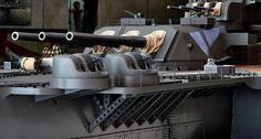 1/10 IJN Battleship Yamato Model @ Yamato Museum, Kure city, Hiroshima, Japan. 大和ミュージアム- 呉市海事歴史科学館, 広島県呉市宝町. #8A