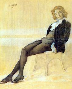 The Poet Zinaida Gippius, Leon Bakst