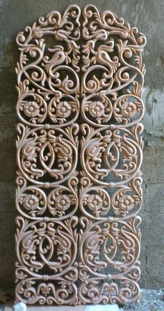 Wood Carvings, Stone Carving, Floral Tattoo Design, Tattoo Designs, Coffee Table Wayfair, Ceiling Rose, Moulding, Wood Design, Love Art