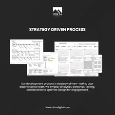 Our 360º strategy-driven process is designed to empower successful products/brands by blending product development with unique storytelling communication strategies. Let us deliver a holistic marketing strategy built just for you. Email: info@uintadigital.com Phone: 801-683-1177 ----- #UX #branding #digitalmarketing #marketingstrategy #strategy #competitor #quotes  #instaquotesgram #branding#advertising#strategy#planning #socialmediamarketing…