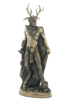 Amazon.com: Celtic God - Cernunnos Standing Sculpture - Ships Immediatly !: Home & Kitchen