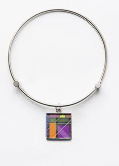 Charm Bracelet - Purple Abstract by VIDA VIDA 2aAnDopIfj