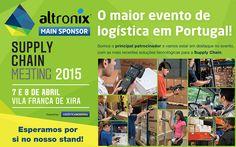 O maior evento de logística em Portugal está a chegar! A Altronix vai ser o patrocinador principal do evento, contamos com a sua visita para conhecer as novidades que temos para lhe apresentar.