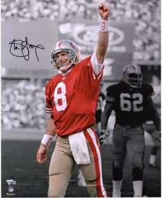 be04a4a51 Steve Young San Francisco 49ers Autographed 16