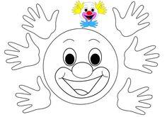 Palyaço kes yapıştır Rooster, Disney Characters, Fictional Characters, Carnival, Crafts For Kids, Preschool, Happy Birthday, Butterfly, Techno