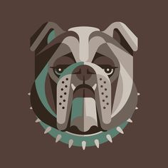 bull dog illustration - Google 搜尋