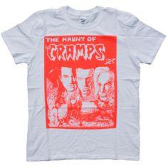The Cramps - T-shirt - Punk Rock Psychobilly Ivy Haunt #London #ShortSleevedWithMotif