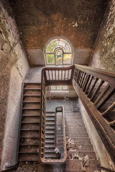 alte treppen hölzerne treppe