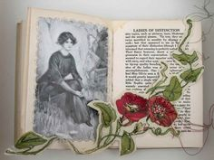 Betty Pepper - Book Keeping. I think this is really beautiful and I like how it works with the image in the book.