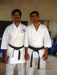 master.gopalakrishnan and karate sankar at kerala - 2013
