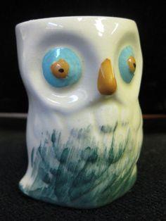 startled owl egg cup