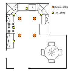 How To Arrange Recessed Lighting General And Task