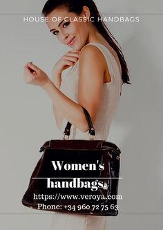 Elegant and avant-garde women's handbags, inspired by the force of nature, the elegance of art and by architectural forms. http://bit.ly/2ti6Iph
