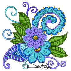 """""""Isabella Collection"""" by Debi Payne Designs Zentangle Patterns, Embroidery Patterns, Zentangles, Doodle Drawings, Doodle Art, Paisley Drawing, Wal Art, Tangle Art, Doodle Designs"""