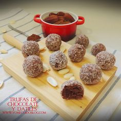¡YO ME CUIDO!: Trufas de almendra y dátiles. #receta #vegana