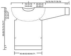 """Black Ice / DROPS 173-5 - Pulóver de punto DROPS con pechera redonda y patrón de jacquard nórdico, en """"Nepal"""". Talla: S – XXXL. - Free pattern by DROPS Design"""