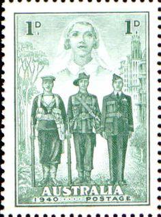 Nurse, Sailor, Soldier, and Aviator Decimal, Stamp Values, Stamp World, Australian Vintage, Australia Map, Vintage Medical, Love Stamps, Vintage Stamps, Unique Animals