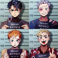 Fanarts Anime, Anime Characters, Manga Anime, Haikyuu Funny, Haikyuu Fanart, Manhwa, Kuroken, Haikyuu Ships, Anime Crossover