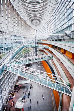 Tokyo International Forum by paulbarroga photography, via 500px