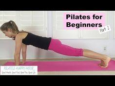Pilates for Beginners - Beginner Pilates Mat Exercises Pilates Workout Videos, Pilates Mat, Pilates Training, Ejercicios Mat Pilates, Body Pilates, Fitness Studio Training, Cardio Pilates, Workout Classes, Pilates Fitness