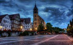 Boeblingen, Germany - I lived here.