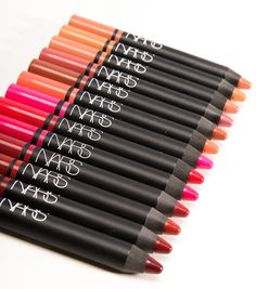 NARS Satin Lip Pencils are great for easy applications and hot trendy colors.
