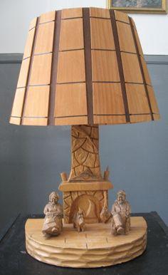 Canada Goose parka replica store - Antique Rustic Ardirondack (Canadian/Quebec) 1950s carved oak ...
