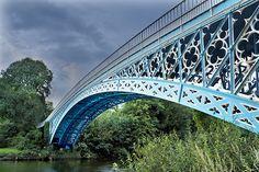 Aldford Iron Bridge, England