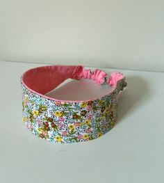 2-in-1 Reversible Headband Mini Floral Print with Pink by KYEbags, $9.99