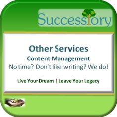 Successiory-Content Management