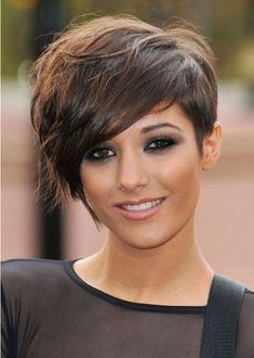 Cute Pixie Haircut: Frankie Sandford